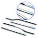 ABS chrome car side window trims for Ford-F150 car exterior decoration