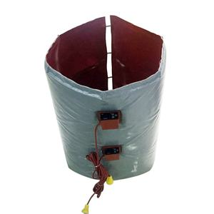 LBC Container or OIl Drum, Barrels Silicone Heating blanket Band heaters with insulation layer Reinforced Jacket