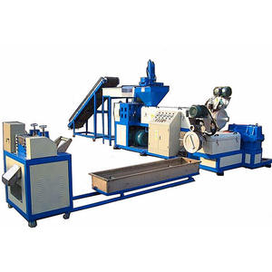 Ce approved pp pe ps abs pellets plastic recycling machine