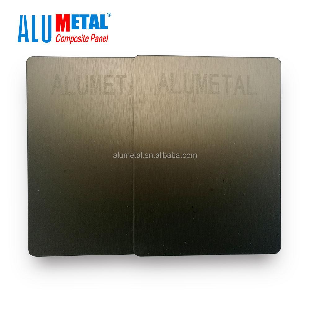 Fırçalanmış alüminyum kompozit panel/acp/acm, <span class=keywords><strong>fırça</strong></span> bitirme alüminyum panel çizim acp üreticileri
