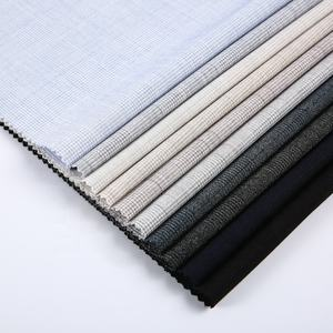 10 Years experience supplier check rayon nylon spandex lining polyester fabric stocklot for dress