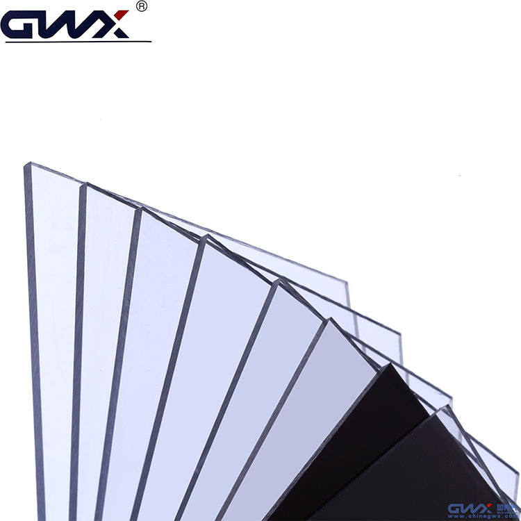 Unbreakable plastic awning material PC polycarbonate solid sheet/Pool cover material