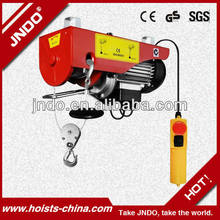 China hoist electric winch with remote control pa 1000