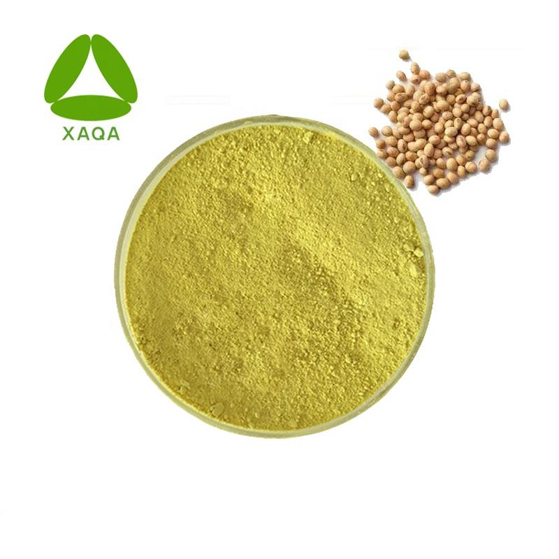 Top Sale Soybean Seed Extract CatheRine Genistein / Soy Isoflavone Powder