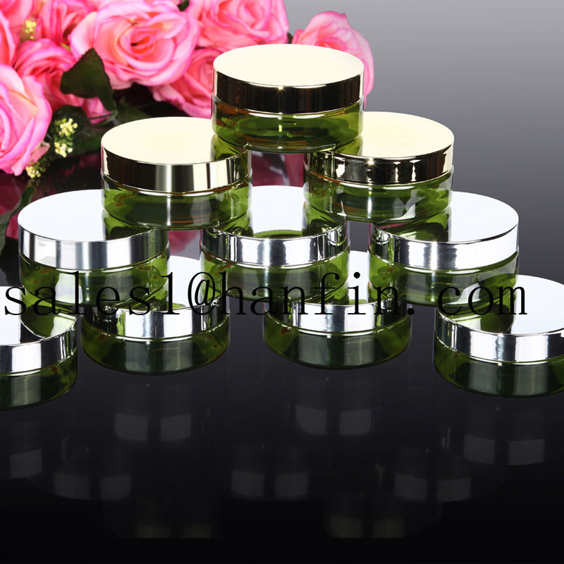 High quality FDA passed plastic PET cream jars