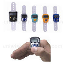 2015 hot sale led cheap newest design finger tally counter,electric digital hand tally counter