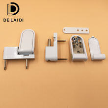 China manufacturer aluminum door hinges for pvc door accessories steel door hinge