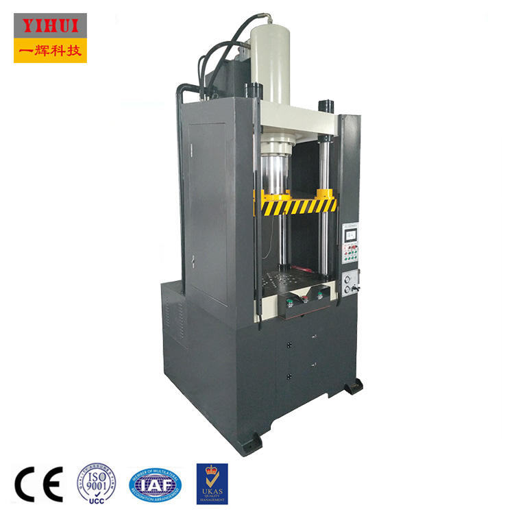 cell phone cover bucket making electro moulding sheet metal forming servo motor four column forming hydraulic press machine