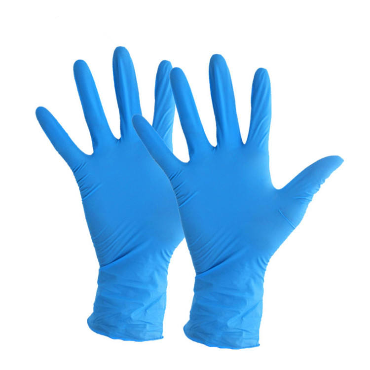 ANT5 cheaper nitrile disposable safety gloves of 9 inch