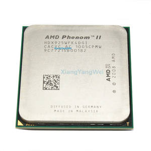 AMD Phenom II X4 925 procesador 2,8 GHz 6 MB L3 caché hembra AM3 Quad-Core piezas dispersas cpu