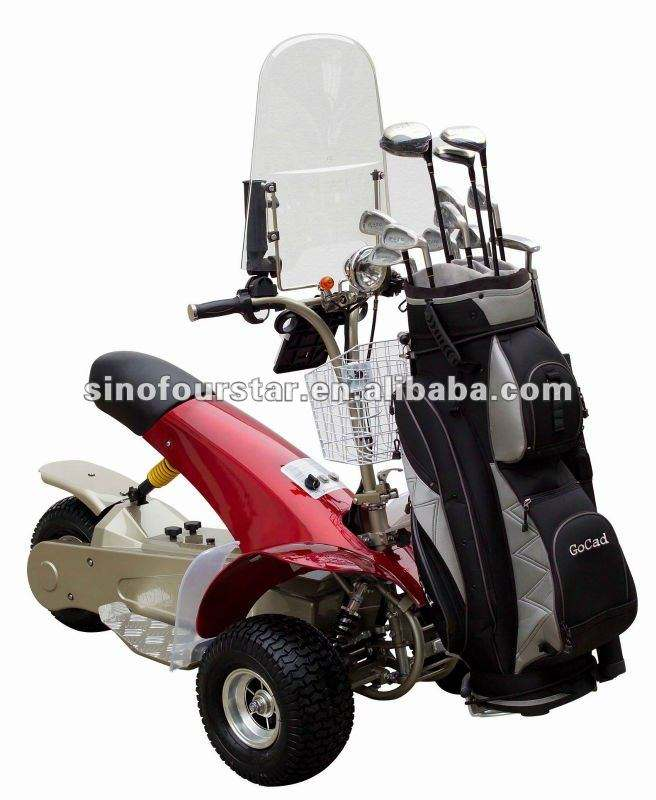 3 Wheels Golf Cart 1000W Electric Motor Golf Caddy With Single Seat SX-E0906
