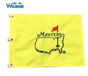 MASTERS Golf pin flags, all kinds of embroidered golf flag