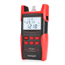 Fc Sc Adapter Handheld Fiber Optical Light Source Tester Tool Kit Opm Optic Power Meter