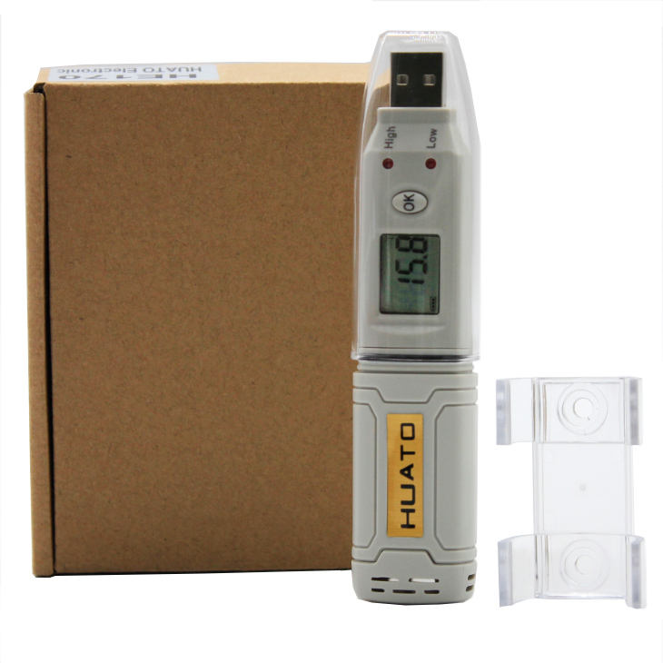 Electronic Pdf Image Thermometer Portable Temperature Recorder For Truck