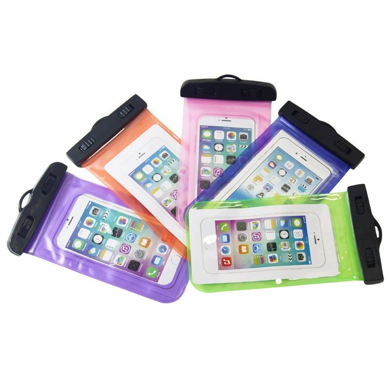 Waterproof phone case,Mobile phone bags cases PVC Waterproof cellphone bag for promotional gift Water Proof Phone Case bag