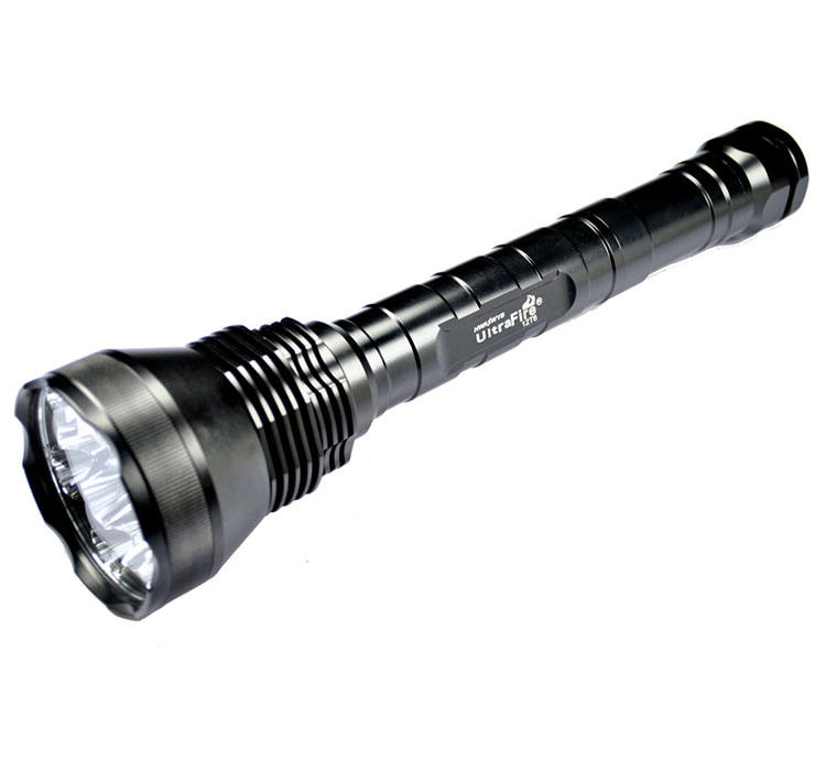 Ultrafire 12T6 Super bright hunting led torch Most Powerful long distance 12T6 13800LM brightest 5-mode XML led flashlight