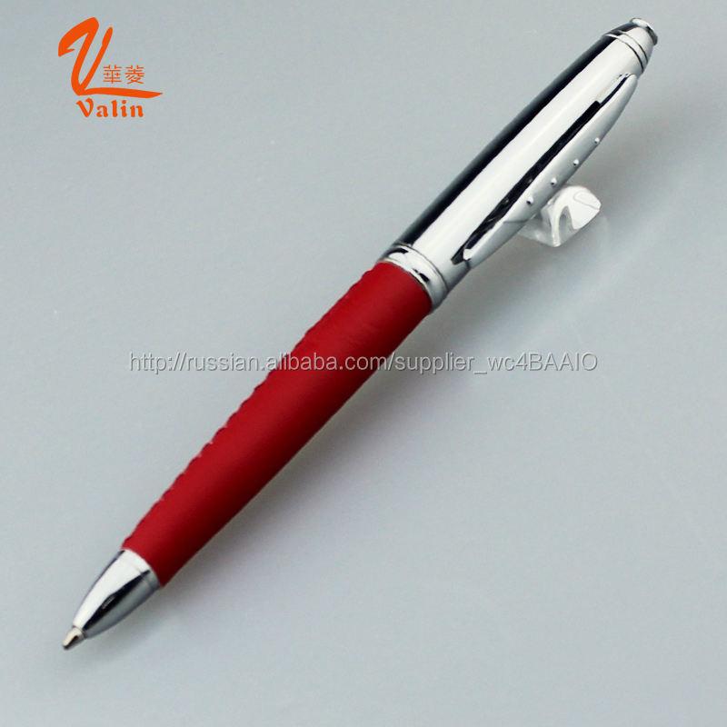 2016 Valin Лучшая цена 500 шт Металлическая шариковая ручка для инновационных канцелярских принадлежностей
