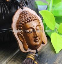 buddha head shape tassel and China knot car decoration jewelry pendant custom design