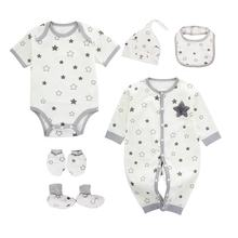 2019 wholesale 100% cotton baby clothes sets gift for baby boys and girls
