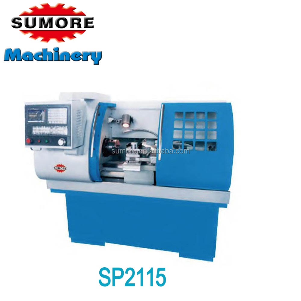 SP2115 gsk controller cnc lathe machine specification price in india