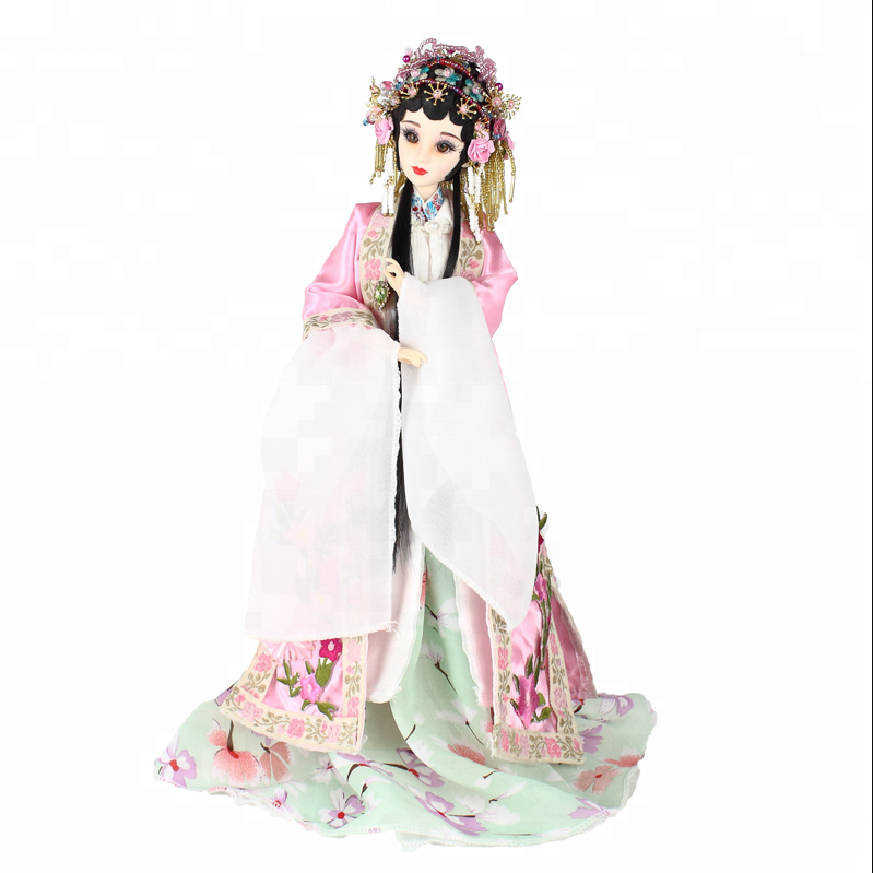 China Factory 12inches action figure doll toys with gorgeous costume for collection