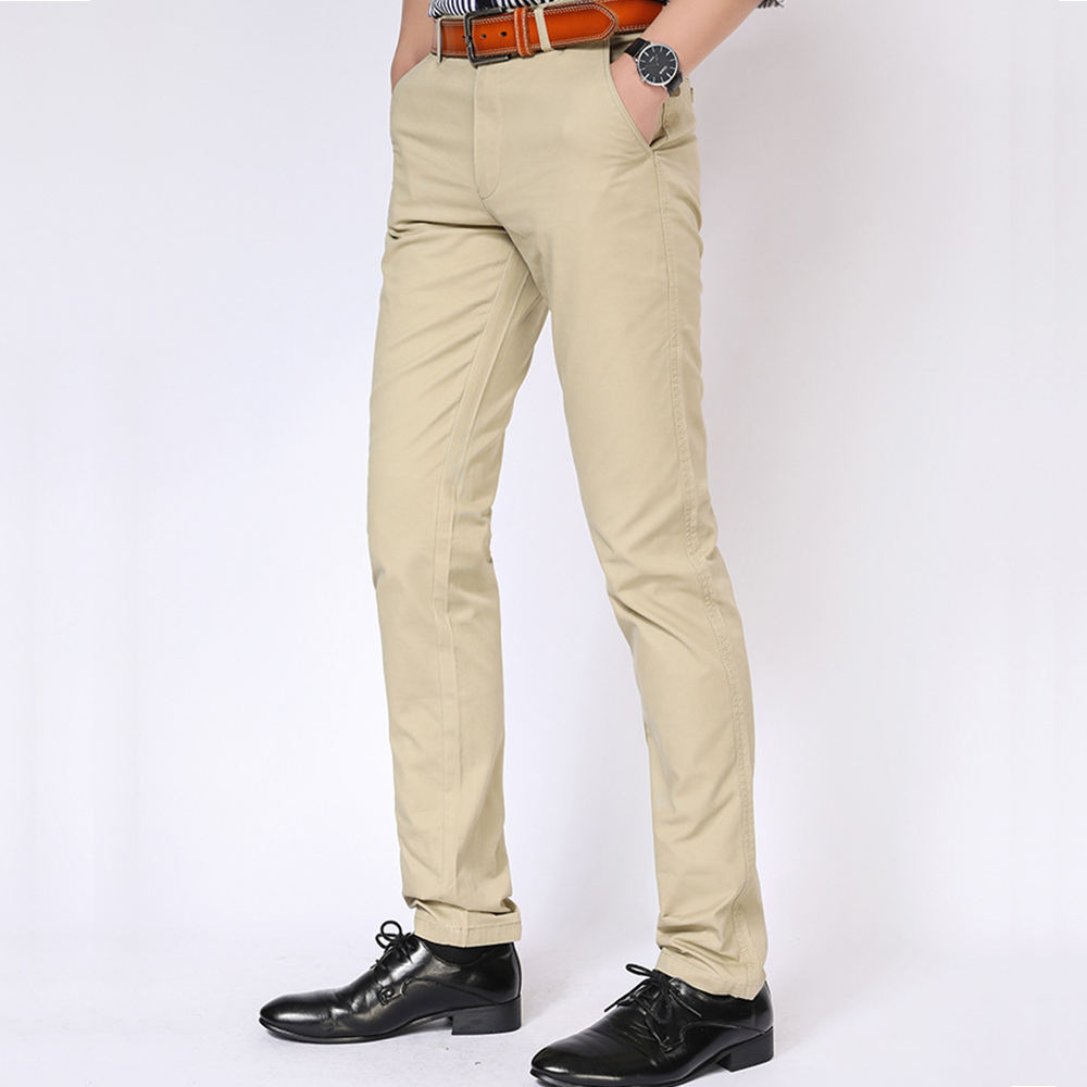 Men's Cotton Casual Wholesale Chino Pants Trousers