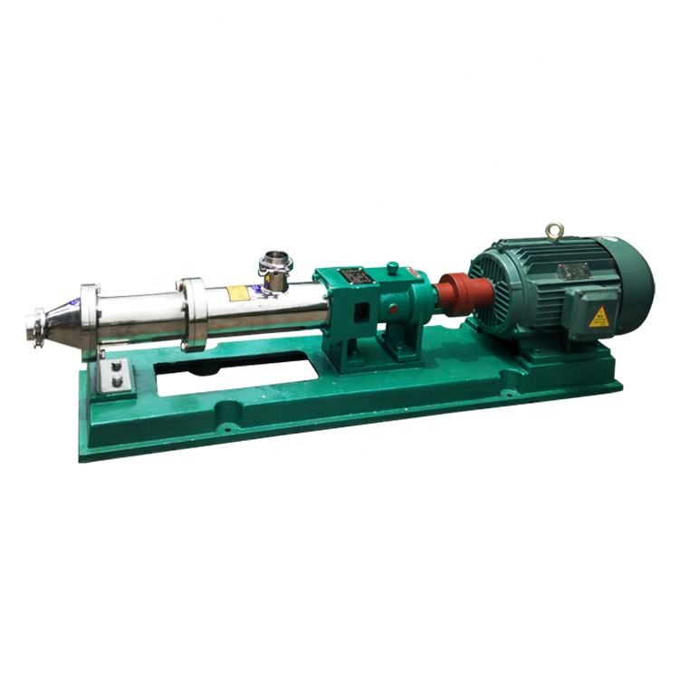 mortar slurry double triple food electric honey allweiler cement molasses dosing screw pump