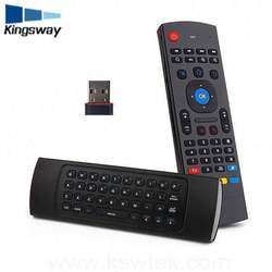 MX3 Air Mouse With Voice Function 2.4Ghz Mini Wireless Keyboard MX3