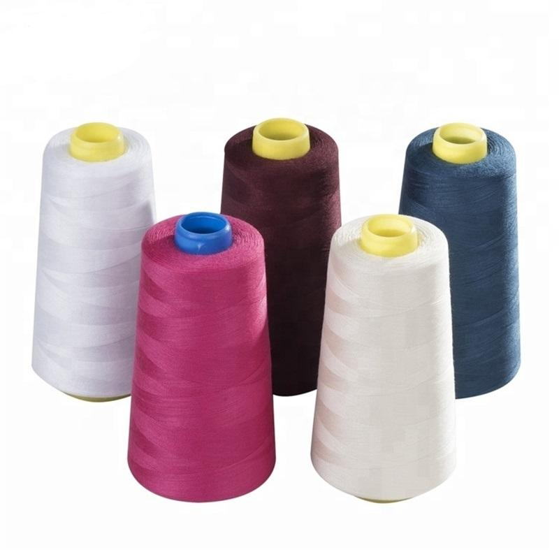 Sewing Thread 100% Polyester 3000 Yards/Spool of yarn, 4pcs(12000yards)/pack, 40/2 All-Purpose Professional Threads for Sewing M
