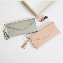 2020 China factory New fashion Personality purse woman Envelop purse wallet for woman leather purse ladies wallet