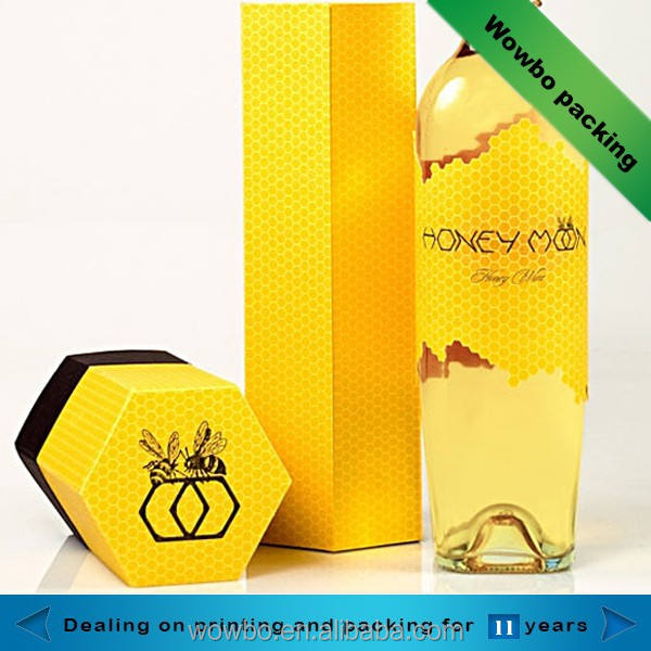 2018 high quality cardboard honey packaging wholesale