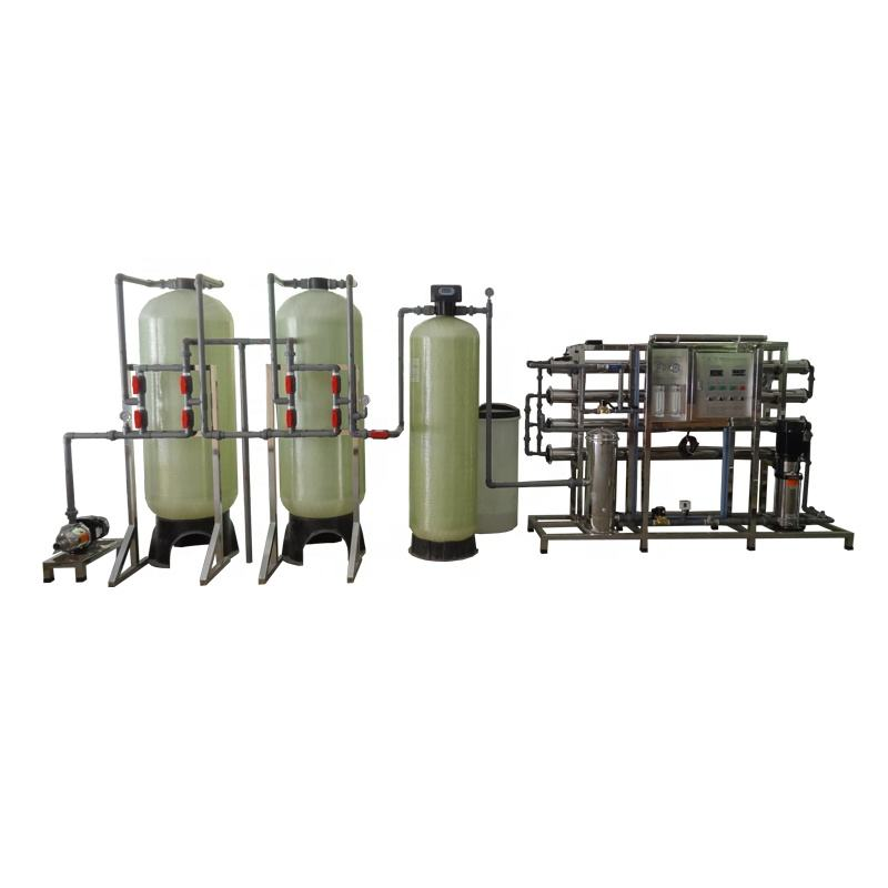 guangzhou 2000L/H pure drinking water purification uv led making systems machine for home use