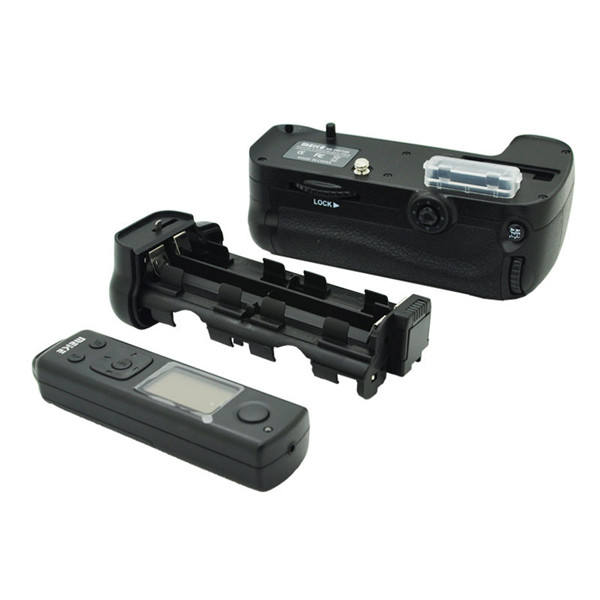 MK-DR7100 Telecomando Senza Fili Muti-power Battery <span class=keywords><strong>Grip</strong></span> Holder Per D7100 D7200 <span class=keywords><strong>DSLR</strong></span> come MB-D15