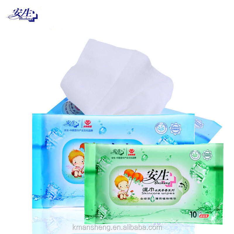 Adults antibacterial and disinfectant cleaning wet wipes non-alcohol wet wipes