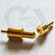 5.0mm female and male gender pogo pin connector