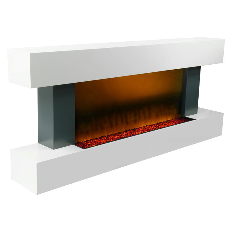 High quality decoration wall mounted free standing Electric Fireplace