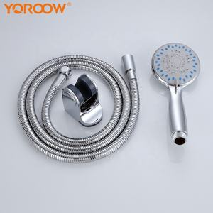 2019 new style good price ABS Hand shower with 304stainless steel hose,1/2 inch hand shower set