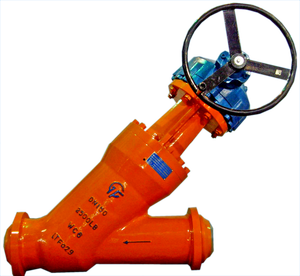 High Pressure Hydrogenation Y-type Globe Valve
