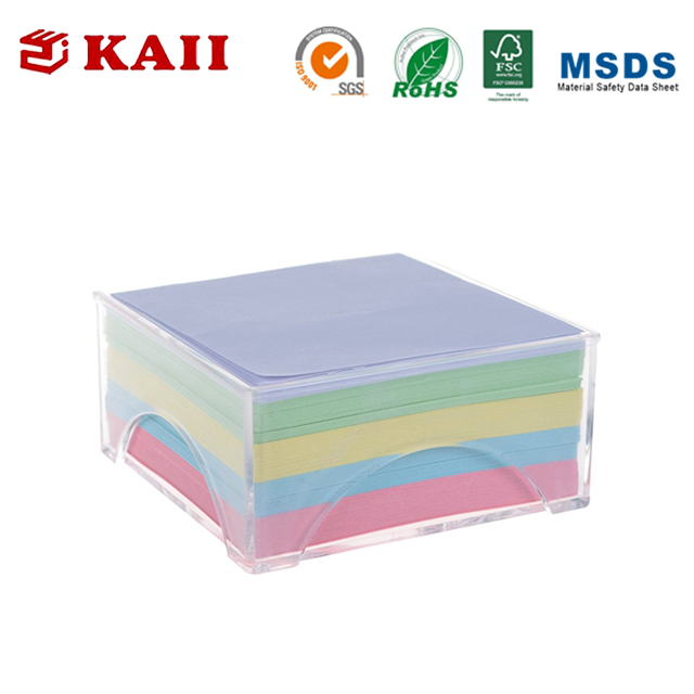 KAII Sticky Note Box Set Memo Pad Blocco di Self-Stick Sciolto Foglia di Carta Box Note