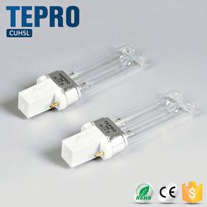 Uv Keimtötende Rohr H Form 12mm Kleine Wasserdichte UV-Licht 5 Watt 7 Watt 9 Watt 11 Watt Bakterizide Uvc-lampe