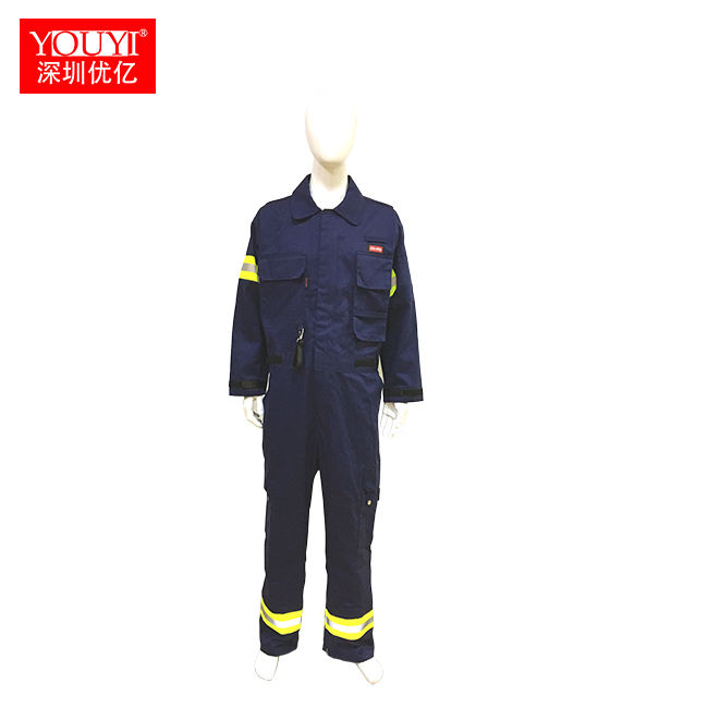 Nomex iiia 안티 불꽃 패브릭 jumpsuit 제복/소방관 coverall