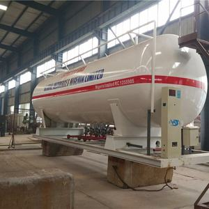 30000 Liters 2 Pumps 4 Filling Scales Ammonia Tanker Truck LPG Bottling Plant Mobile Gas Station