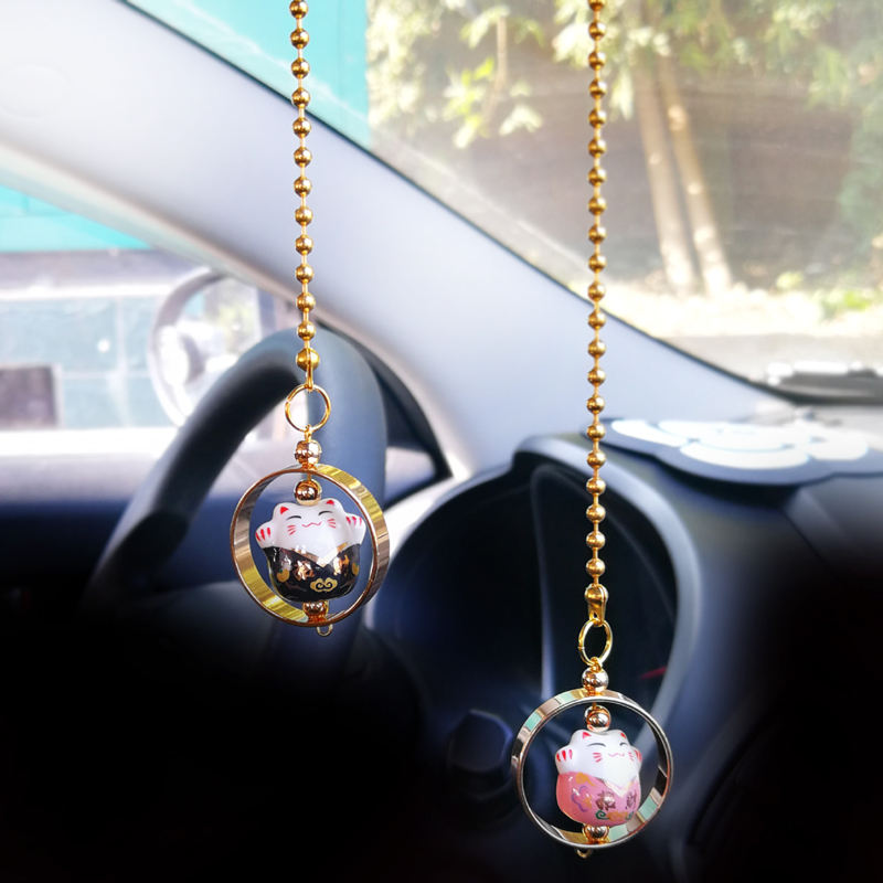 car hanging decoration items hang Fortune cat car interior hanging decoration and accessories