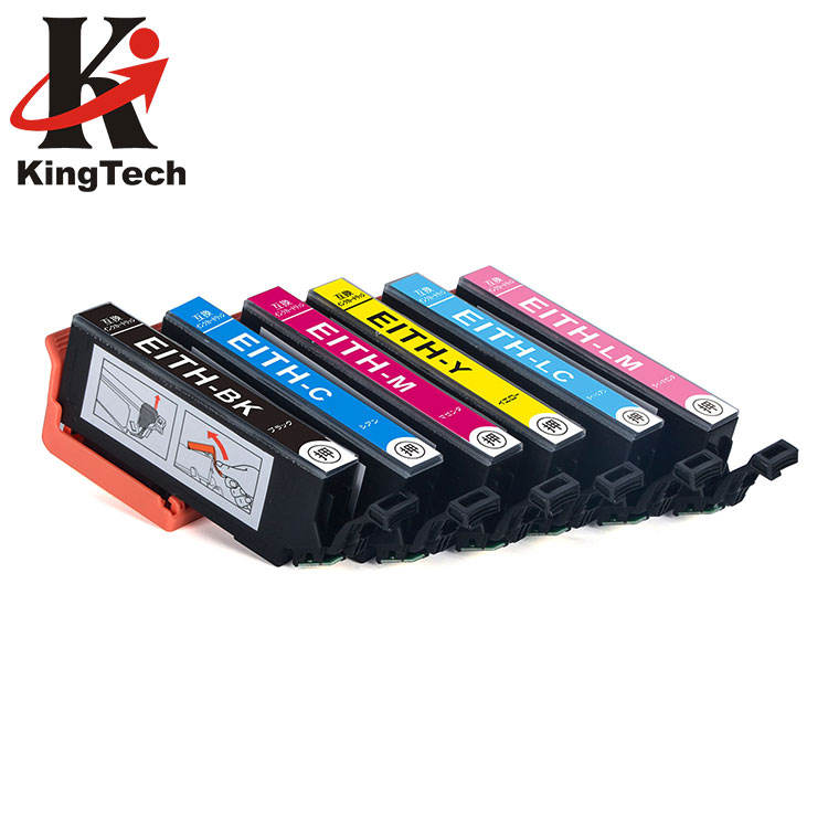 KingTech (High) 저 (Performance ITH-6CL 색 <span class=keywords><strong>Printer</strong></span> Ink <span class=keywords><strong>Cartridge</strong></span> Compatible 와 EP-709A Epson 프린터