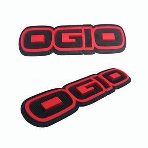 Nach 3D PVC Brief Logo Gummi Patch gament PVC label