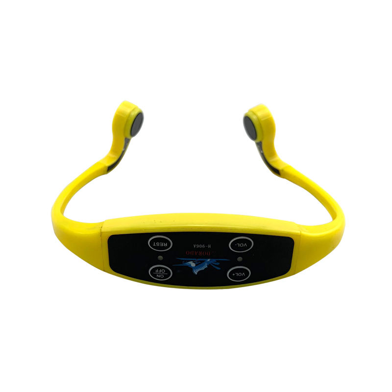 Top Waterproof Headphones that Uses Bone Conduction Technology Best Buy Headsets with FM Transmitter for Underwater Swimming