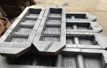 4 cavity ingot mold
