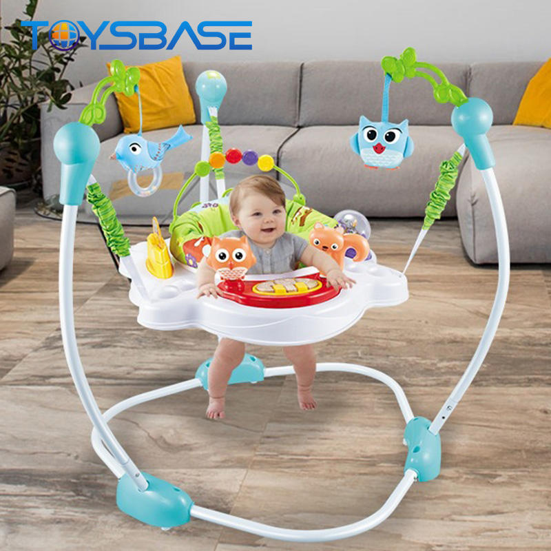Infant Toys Top Selling Jungle Series Electric Swing Chair | Baby Toys Baby Jumper Walker