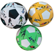 PVC/PU/Rubber Material hand sewn real leather soccer ball