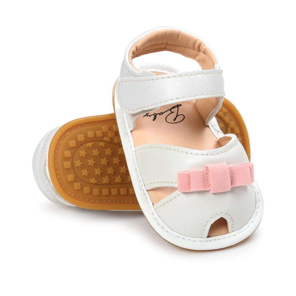 New Spring&Autumn white sandals baotou baby princess toddler shoes